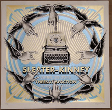 SLEATER KINNEY - 2015 - ALBEQUERQUE - NO CITIES TO LOVE - DELANO GARCIA - POSTER