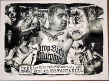 THE DROP KICK MURPHY'S - 2008 - FANTASIA - ALBUQUERQUE - POSTER -DELANO GARCIA