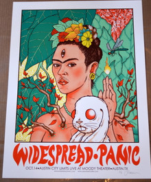 WIDESPREAD PANIC - 2014 - AUSTIN CITY LIMITS - AUSTIN- JERMAINE ROGERS - POSTER