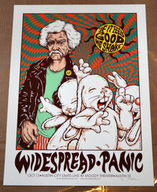 WIDESPREAD PANIC - 2014 - ARTIST PROOF - AUSTIN CITY LIMITS- JERMAINE ROGERS