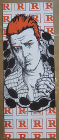 JOSH HOMME - QUEENS OF THE STONE AGE - JERMAINE ROGERS - ART PRINT - POSTER