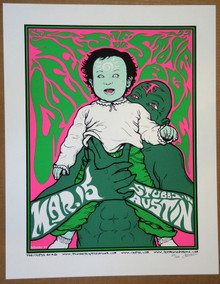 QUEENS OF THE STONE AGE - JOSH HOMME - STUBB'S 2004 - JERMAINE ROGERS - AUSTIN - POSTER