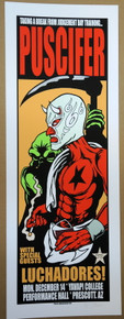 PUSCIFER - TOOL - 2015 - JERMAINE ROGERS - YAVAPI COLLEGE - POSTER - ARTIST PROOF