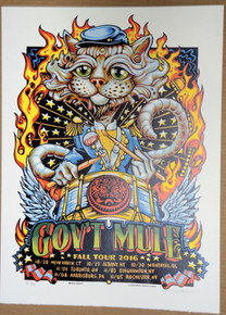 GOV'T MULE - WARREN HAYNES - FALL TOUR 2016 - AJ MASTHAY - NEW HAVEN - QUEBEC