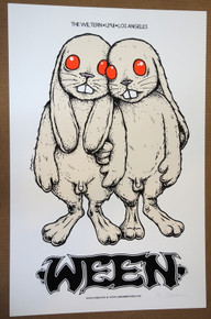 WEEN - 2011 - ARTIST PROOF - LOS ANGELES  - POSTER - JERMAINE ROGERS