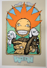 WEEN - 2007 - THE LIBRARY - OXFORD- MISS. - JERMAINE ROGERS - POSTER