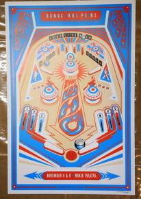 THE WHO - 2009 - NOKIA THEATRE - LOS ANGELES - KII ARENS - TOWNSEND - DALTRY - POSTER
