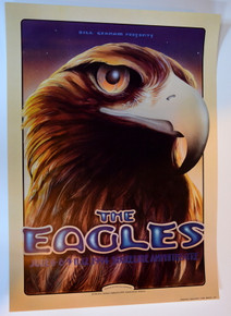THE EAGLES - 1994 - SHORELINE AMPHITHEATRE - POSTER - RANDY TUTEN - BGP095