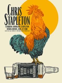 CHRIS STAPLETON - 2017 - FRESNO STATE - JOHN VOGL - ANDERSON EAST