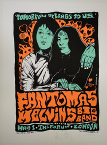 FANTOMAS - MELVINS - TEST EMBELLISHED - JERMAINE ROGERS - 2006 - THE FORUM - LONDON