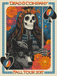 DEAD AND COMPANY - FALL TOUR 2017 - JOHN VOGLE - VIP TOUR POSTER