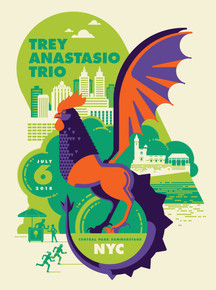 TREY ANASTASIO TRIO - 2018 - CENTRAL PARK SUMMER STAGE - NYC - TOM WHALEN