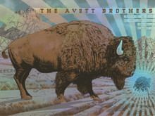AVETT BROTHERS- FOIL EDITION - 2018 -MISSOULA MT - BIG SKY BREWING - NEAL WILLIAMS - POSTER