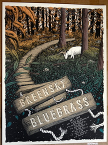 GREEN SKY BLUEGRASS - FALL TOUR 2017 - NEAL WILLIAMS - POSTER