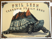 PHIL LEASH AND FAMILY  - FOX THEATER - BOULDER CO - NEAL WILLIAMS - POSTER