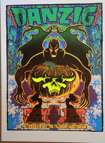 DANZIG - 2018 HALLOWEEN - FILLMORE - DENVER - LINDSEY KUHN - POSTER - POWER TRIP