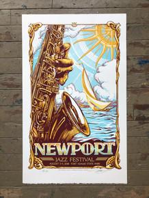 NEWPORT JAZZ FESTIVAL - 2018 -  NEWPORT, RI - AJ MASTHAY - POSTER