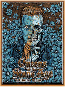QUEENS OF THE STONE AGE - 2018 - SYDNEY - POSTER - BEN BROWN - JOSH HOMME
