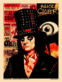 ALICE COOPER - 2016 - STRANAHAN THEATER - TOLEDO - XRAY - SCHOOLS OUT