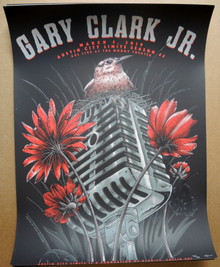 GARY CLARK JR  - 2019 - AUSTIN CITY LIMITS - SEASON 45 - TOUR POSTER - NEAL WILLIAMS