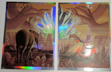 THE ARCTIC MONKEYS - FOIL ARTIST PROOF- 2 POSTER SET -  2018 - HOLLYWOOD BOWL - NEAL WILLIAMS - POSTER