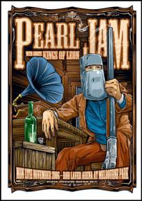 PEARL JAM - 2006 - KEN TAYLOR - ROD LAVER ARENA - MELBOURNE - TOUR POSTER