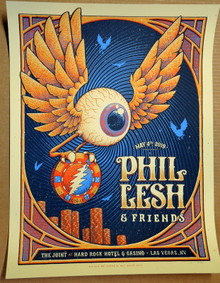 PHIL LESH AND FRIENDS - 2019 - A/P #4/50 - THE JOINT - HARD ROCK - LAS VEGAS - POSTER