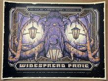 WIDESPREAD PANIC - 2016 - 1ST BANK CENTER -  COLORADO - POSTER - HALF HAZARD PRESS
