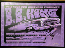 BB KING - 2011 - HAZEL MILLER - BOULDER THEATER - ORIG SILKSCREEN - RICHARD BIFFLE