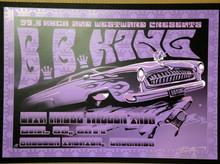 BB KING - 2011 - HAZEL MILLER - BOULDER THEATER - ORIG SILKSCREEN - RICHARD BIFFLE