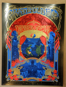 GRATEFUL DEAD - LOCKIN FESTIVAL 2017 - TERRAPIN STATION - ARTIST PROOF - ORIG SILKSCREEN - RICHARD BIFFLE - POSTER