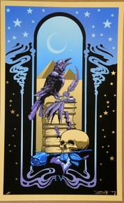GRATEFUL DEAD - ATTICS OF MY LIFE ART PRINT - ARTIST PROOF - ORIG SILKSCREEN - RICHARD BIFFLE - POSTER