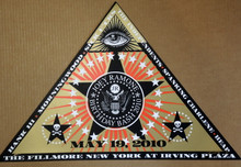 THE RAMONES - JOEY BIRTHDAY BASH - 2010 - FILLMORE - NEW YORK CITY - ARTIST PROOF - ORIG SILKSCREEN - RICHARD BIFFLE - POSTER