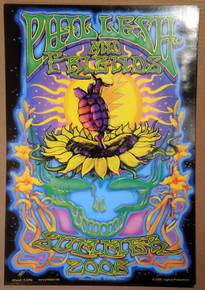 PHIL LESH AND FRIENDS - SUMMER TOUR 2006 POSTER - RICHARD BIFFLE - ARTIST PROOF