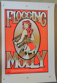 FLOGGING MOLLY- UNCUT PROOF SHEET - 2004  - HOB- ORLANDO - STAINBOY - GREG REINEL