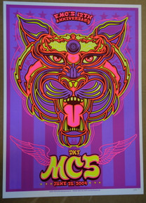 MC5 - TODD SLATER - ARTIST PROOF - EMO'S AUSTIN TEXAS - POSTER