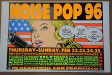 FRANK KOZIK - NOISE POP - 1996 - SAN FRANCISCO - TROCADERO -
