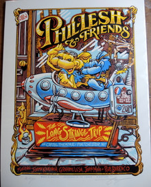 PHIL LESH AND FRIENDS - 2019 - CAPITOL THEATRE - AJ MASTHAY - TOUR POSTER