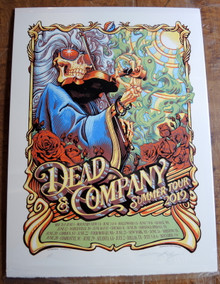 DEAD AND COMPANY - SUMMER TOUR 2019 - ARTIST PROOF - AJ MASTHAY - TOUR POSTER