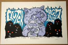CLUTCH - 2004 - ENGINE ROOM - ARTIST PROOF SIGNED -TOUR POSTER - JERMAINE ROGERS