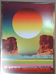 KACEY MUSGRAVES - FOIL - 2019 - RED ROCKS - KII ARENS - DENVER -TOUR POSTER