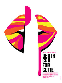 DEATH CAB FOR CUTIE- 2019 - BOULDER - DAN STILES - FOX THEATRE - TOUR POSTER