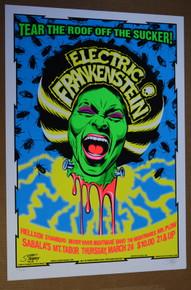 ELECTRIC FRANKENSTEIN - SABALAS - PORTLAND - 2005  - STAINBOY - GREG REINEL