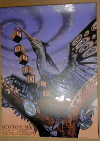 TWIDDLE - 2019 - BOSTON - FOIL #8/15 - NEAL WILLIAMS - POSTER - HOUSE OF BLUES