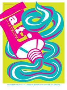 AJT J - 2014 - FILLMORE DENVER - DAN STILES - TOUR POSTER - LOVELIFE