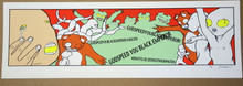 GODSPEED YOU BLACK EMPEROR - 2002 - 40 WATT CLUB - DC - JERMAINE ROGERS - POSTER