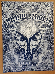 MARS VOLTA - 2008 - JERMAINE ROGERS - ST LOUIS - MEXICAN CHOCOLATE - POSTER