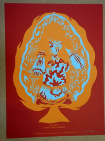 QUEENS OF THE STONE AGE - QOTSA - RED VARIANT - POSTER - JERMAINE ROGERS- A/P - AUSTRIA - 2007