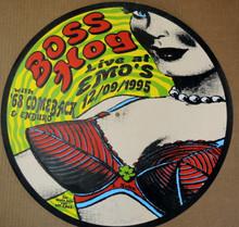 BOSS HOG - '68 COMEBACK- 1995 - EMO'S  - LINDSEY KUHN - POSTER - AUSTIN