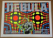 NEBULA - 2004 - LARIMER LOUNGE  - LINDSEY KUHN - POSTER - DENVER - BLACK LAMB